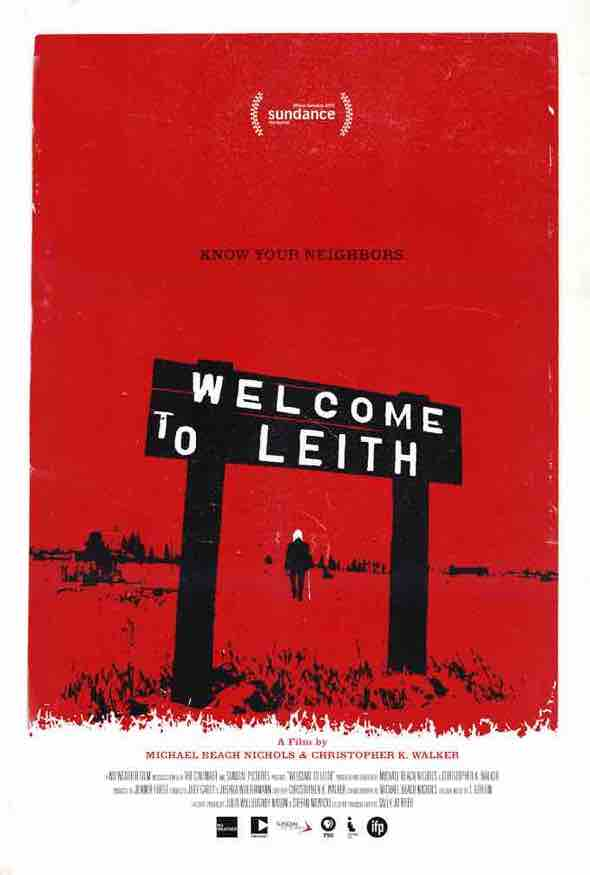Welcome to Leith Poster front